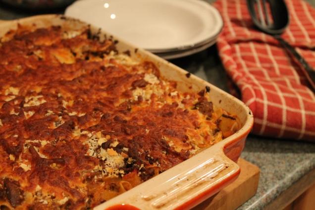 Bolognese Pasta Bake 1