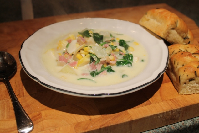 Smoked Fish Chowder (2)
