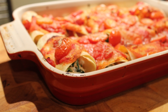 Spinach and Ricotta Cannelloni (2)