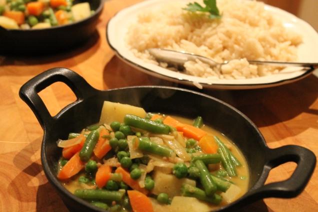Vegetable Korma (1)