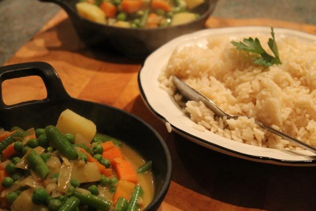Vegetable Korma (2)