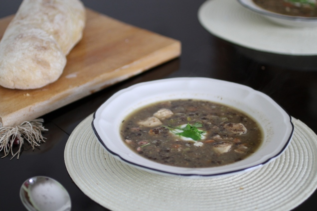 Chicken and Lentil Soup (2)
