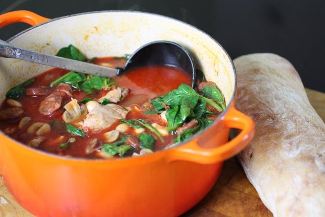 Chicken, Chorizo and Butter Bean Stew (1)