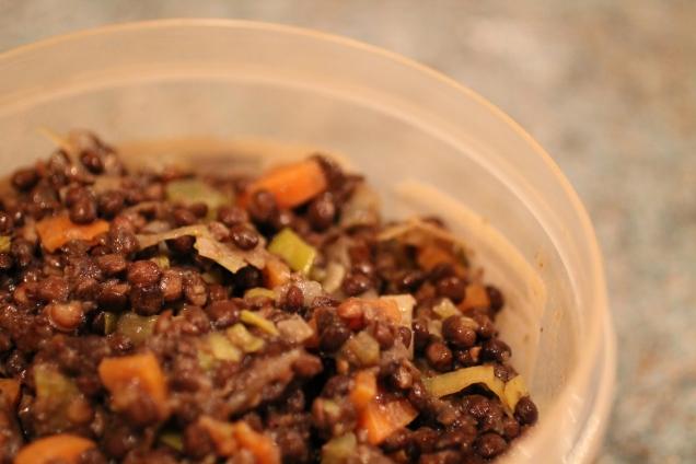 Leftover Lentils