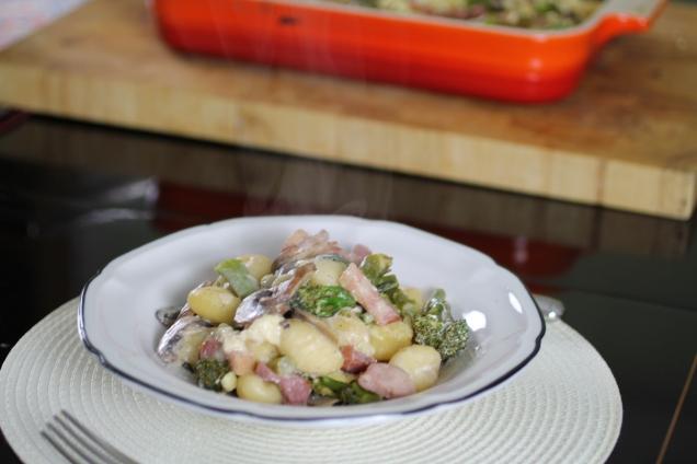 Mushroom and Brocolli Gnocchi Bake (3)