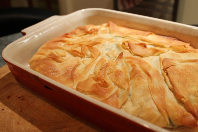 Spinach and Feta Filo Pie (2)