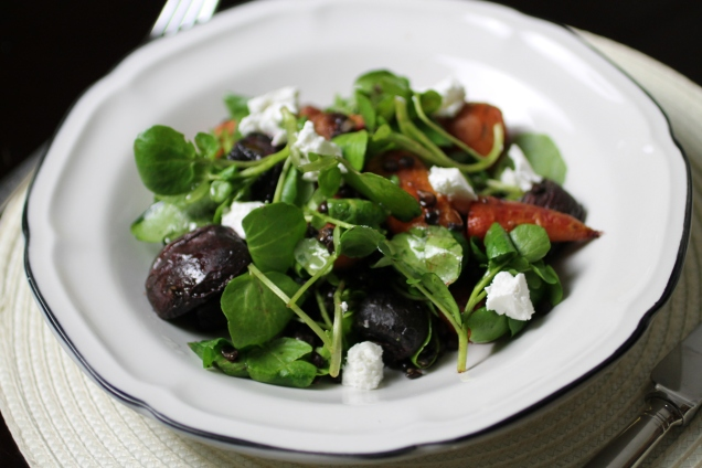 Carrot, Beetroot and Watercress Salad (2)
