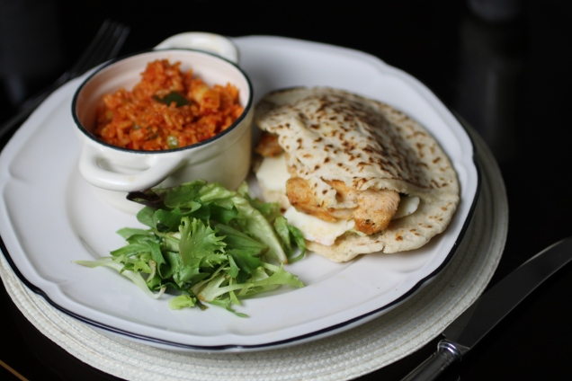 Chicken Pittas with Spicy Rice (1)