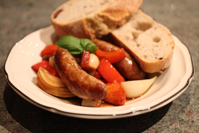 One Pan Balsamic Sausage and Peppers (1)